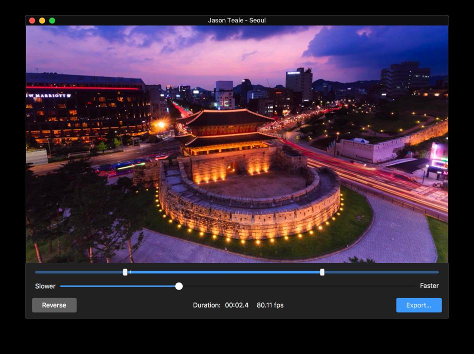 Persecond Mac 破解版 延时摄影视频制作应用-麦氪派